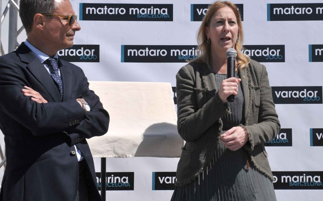 INAUGURATION OF THE NAUTICAL BASE FOR SUPERYACHTS MATARO MARINA BARCELONA